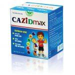CAZIDmax – Canxi DỄ HẤP THU cho trẻ có cả vitamin D3