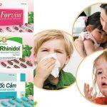 Thuốc đông dược trị cảm, ho, sổ mũi cho trẻ có hiệu quả không cần uống kháng sinh