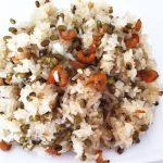 Bí quyết nấu món xôi đậu xanh tôm khô cực ngon