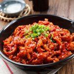 Món thịt heo xào cay Hàn Quốc cực kỳ thơm ngon