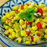 Món ngon Salad bắp, tôm khô kiểu Thái