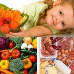 Trẻ cần ăn đủ 4 nhóm dinh dưỡng mỗi ngày không?